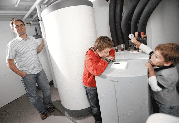 Heat Pump Hot Water Service