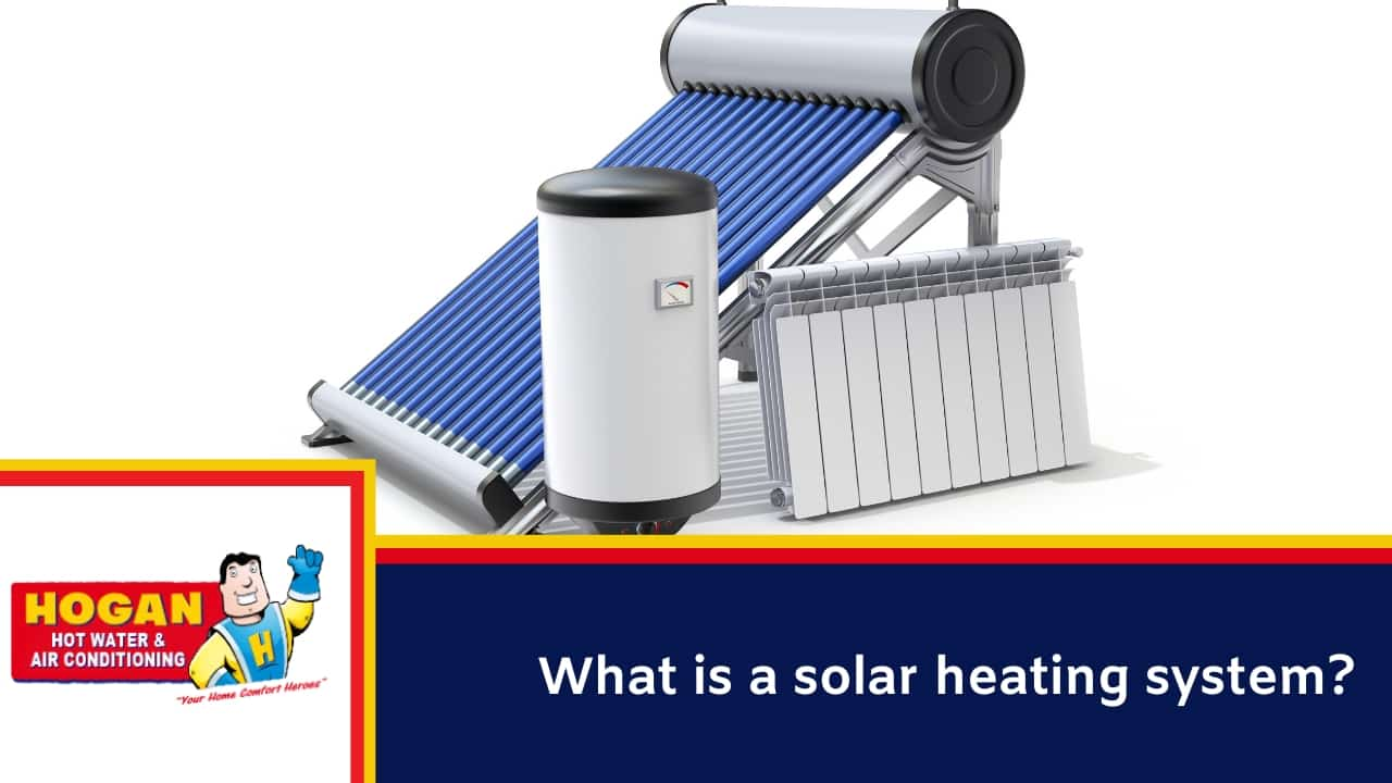 What is a solar heating system