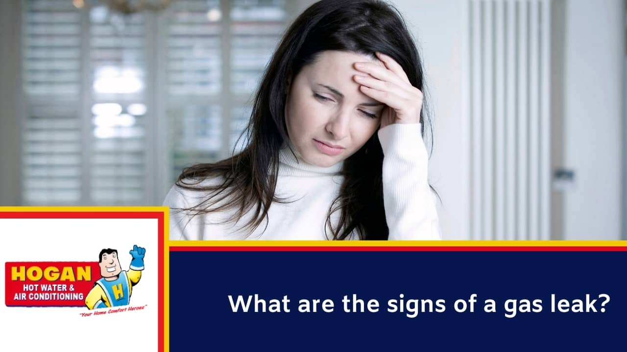 What are the signs of a gas leak? - Dizziness