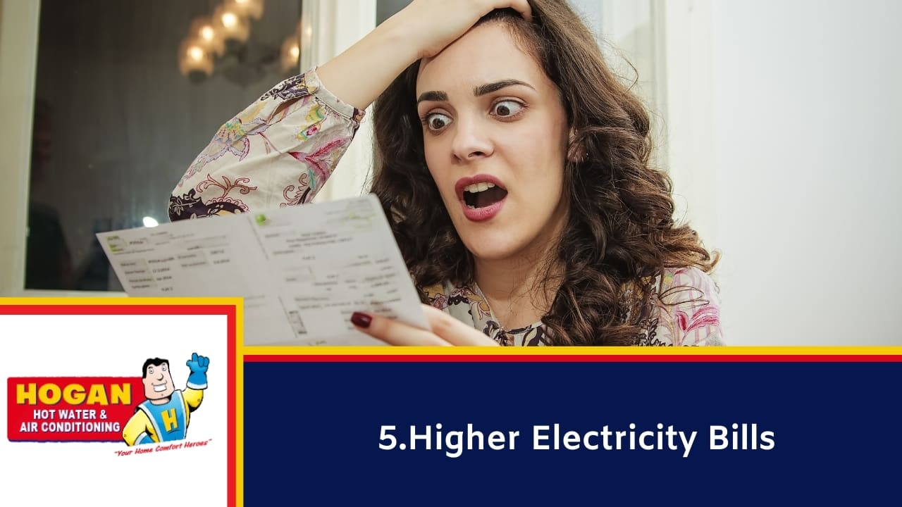 Higher Electricity Bills