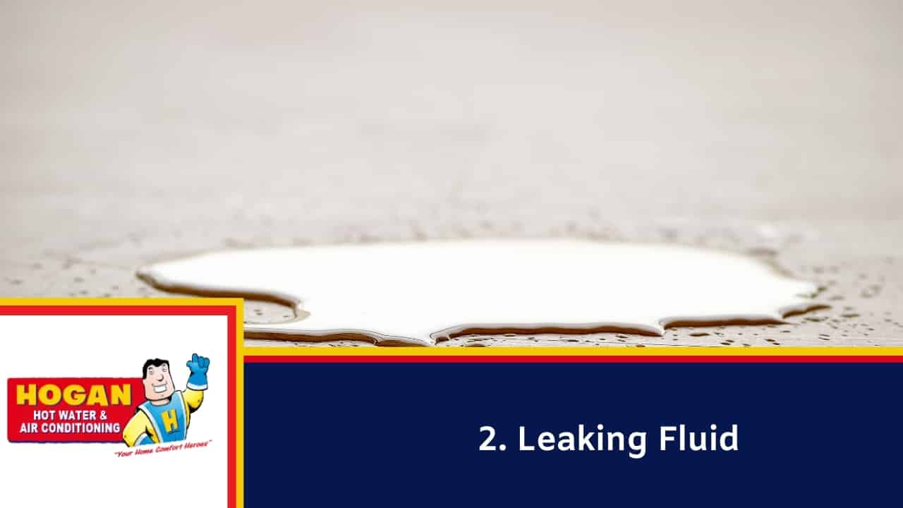 Leaking Fluid
