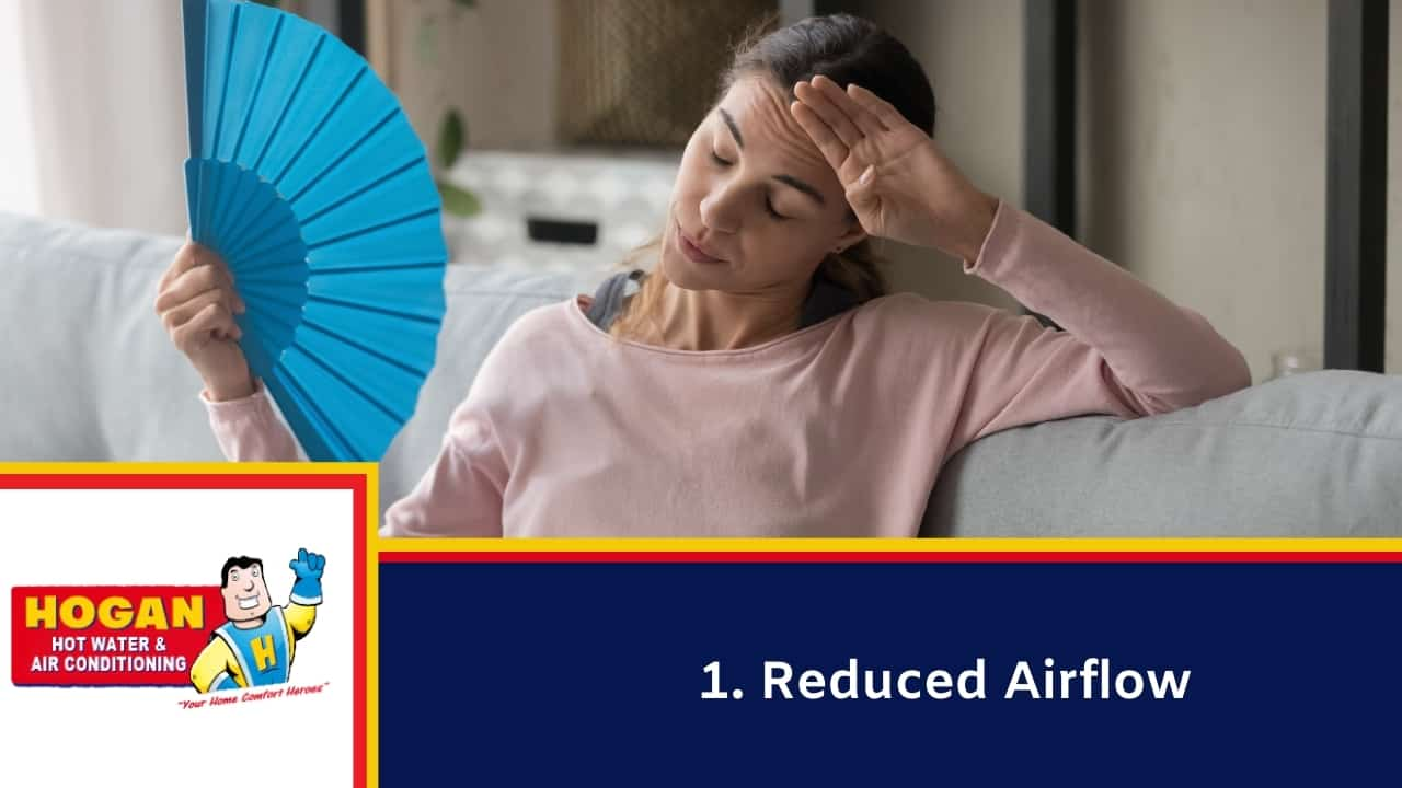 Reduced Airflow